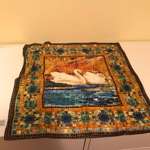Metropolitan Museum of Art Accessories - Silk 🦢 Swan Scarf
